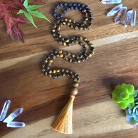 Golden Tiger's Eye Mala Beads