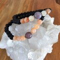 Sunstone & Indian Agate Diffuser Bracelet
