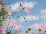 Bounce into Spring Yoga & Acu-Massage Workshop